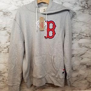 Levis Boston Red Sox Mens Hoodie New Sz M